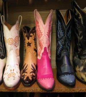 Boots für Cowgirls - in allen Farben