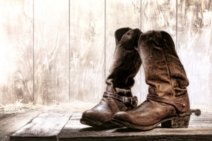Cowgirl-Boots lassen sich cool kombinieren