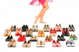 Große Auswahl an Schuhen auch in Sondergröße