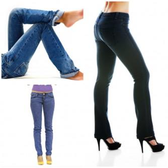 Comfort Fit, Straight Leg und Slim Fit Jeans