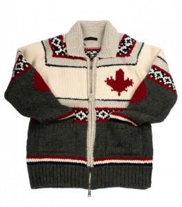 Pullover mit Norweger Muster