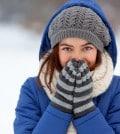 Warme Winterjacke