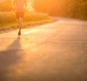 joggen im herbst
