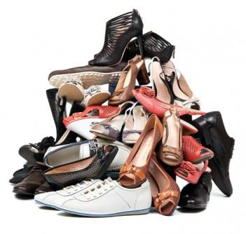Schuhauswahl