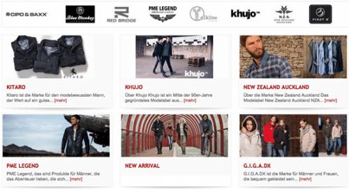 Screenshot Brands